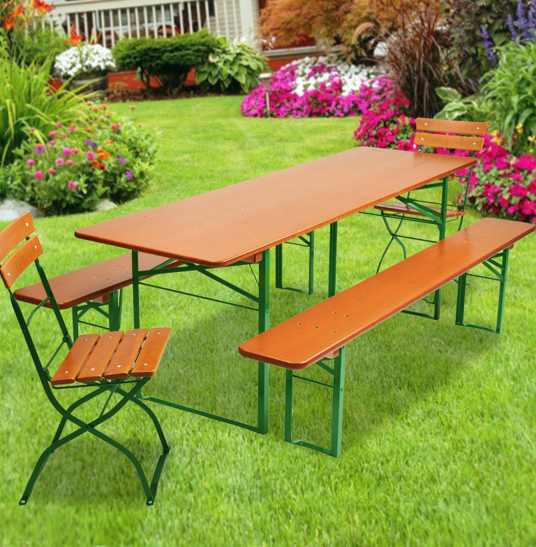 Beer Garden Set Plus 2 Chairs Beer Garden Furniture