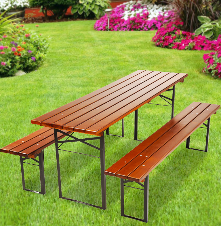 "Table and Bench Set ""Bayern"" • Beer Garden Furniture"