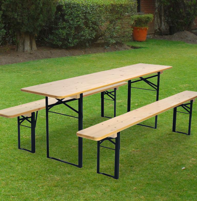 """Beer Garden Set """"Wider Table"""" • Beer Garden Furniture"""