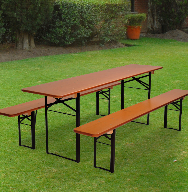 "Beer Garden Set ""Wider Table"" • Beer Garden Furniture"