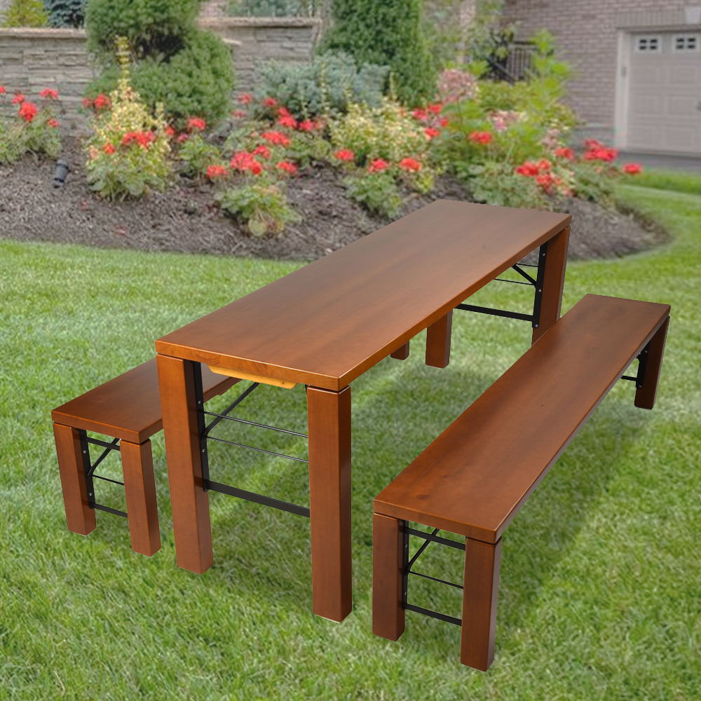 "Table and Bench Set ""Milan"" • Beer Garden Furniture"